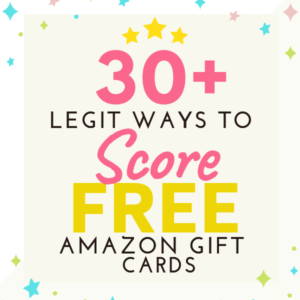 LEGIT WAYS TO GET FREE AMAZON GIFT CARD