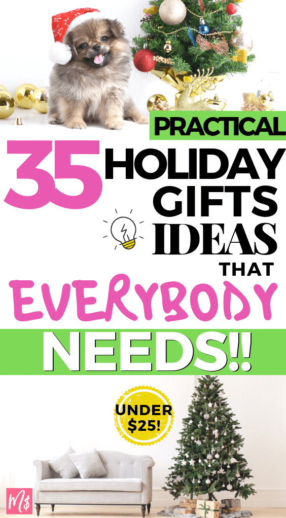 practical useful thoughtful holiday christmas xmas gifts ideas that everybody need amazing clever gift guide for under $25, Gift ideas, frugal gifts, inexpensive gift ideas.