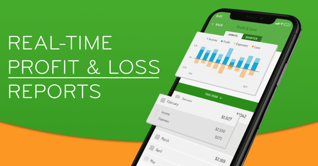 Hurdlr review features real time profit and loss reports - tax help for freelancers