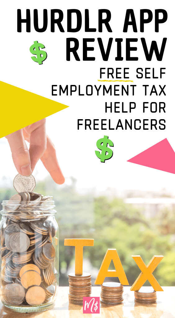 Tax Help for Freelancers, Self Employment Tax App, Free App for Taxes, Hurdlr Tax Review
