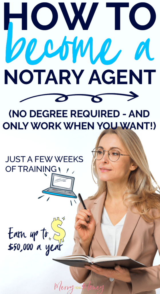 become a notary agent, notary jobs, tips, NSA, signing agent, training exams, work from home, side hustle, make money, earn extra income