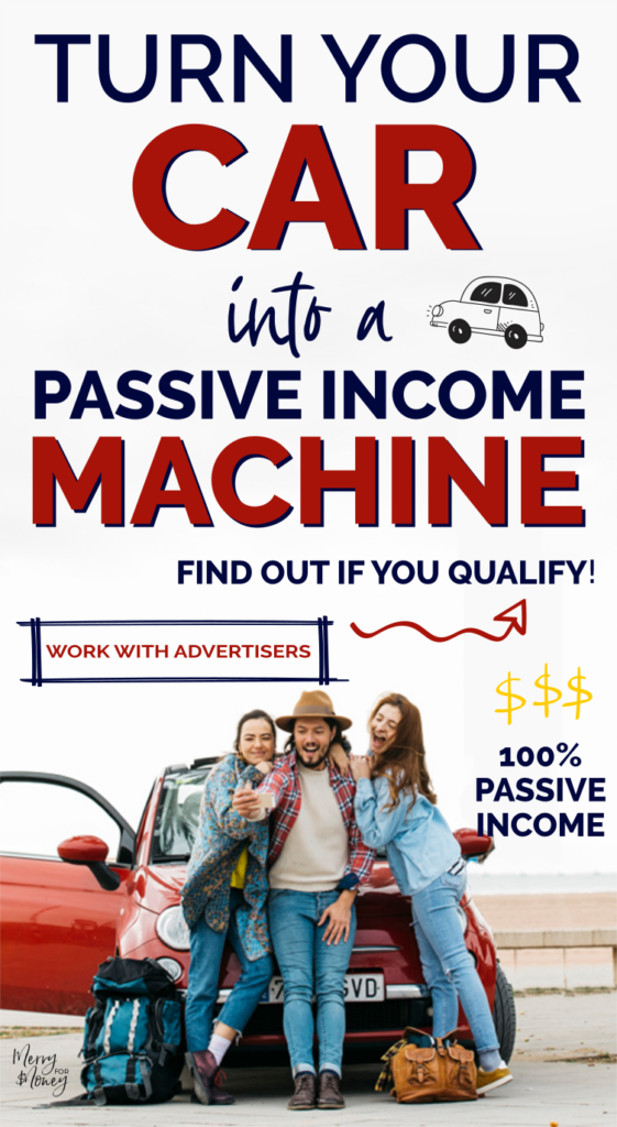 make money with your car, passive income, car wrapping, car advertisement, side hustle, extra money, make extra money, car wraps, personal finance