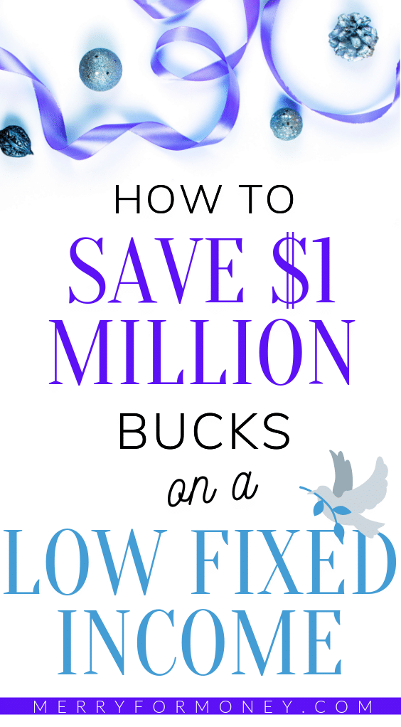 I thought I had NO WAY to save enough money to even retire on my low income but this blew my MIND! - It's totally possible to get rich n become a SELF MADE millionaire on a fixed income with just $300 bucks #mindblown - how to become a millionaire on low income, self made millionaire, make money, personal finance tips, low income, frugal lifestyle, personal finance, extra income, fixed income, merry for money, budgeting tips, money article, money tips, self made millionaire, build wealth, debt