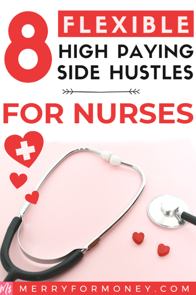 All nurses work hard already but if you're crazy for that extra cash away from bedside clinical work, check out 8 of these super flexible easy side hustles for RNs. - Money tips, side hustle for nurses, registered nurse jobs, extra money, highest paid career, nursing type jobs, non clinical ideas alternative for nurses, RNs nursing jobs for moms, business people night shift medical awesome