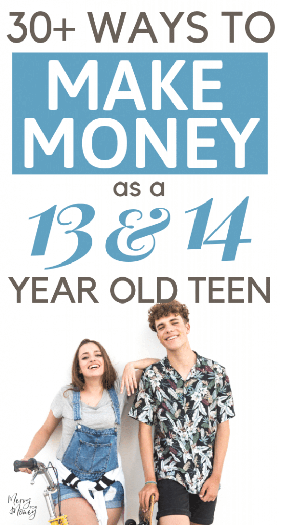 Money Making Jobs For Middle School Teens (12, 13, & 14-Year