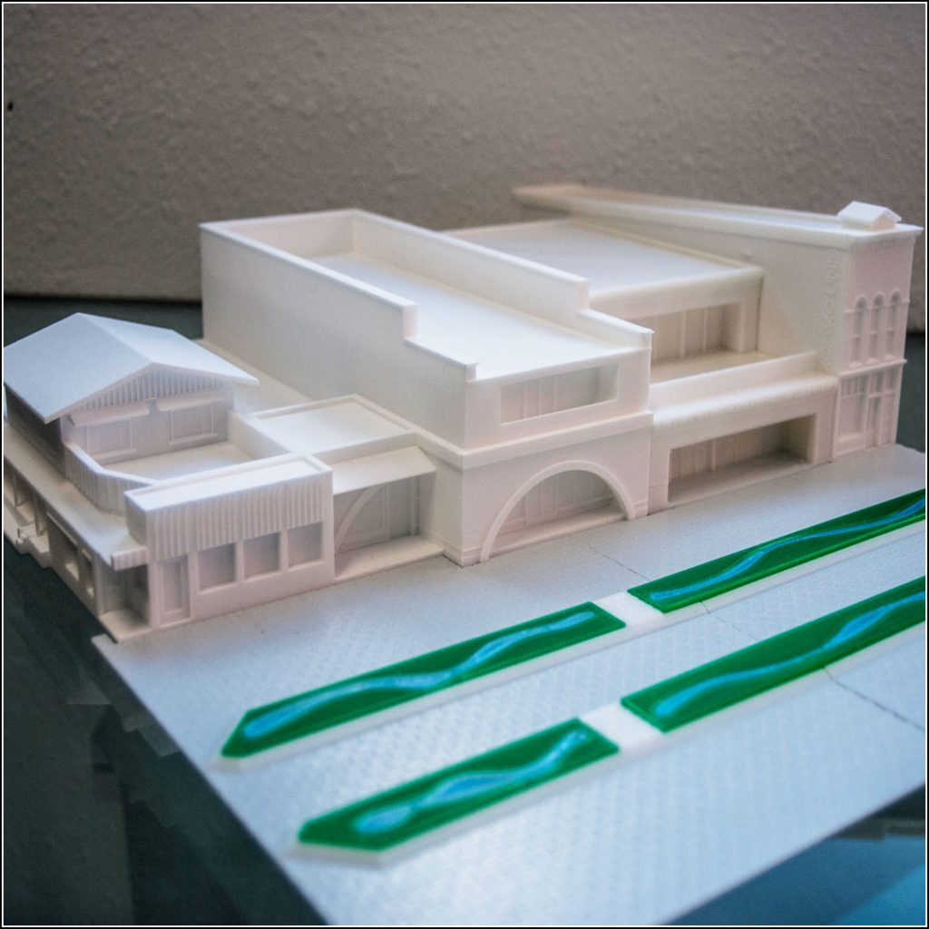 3D-Printed-Model-of-Aspen-Cooper-Mall-Buildings