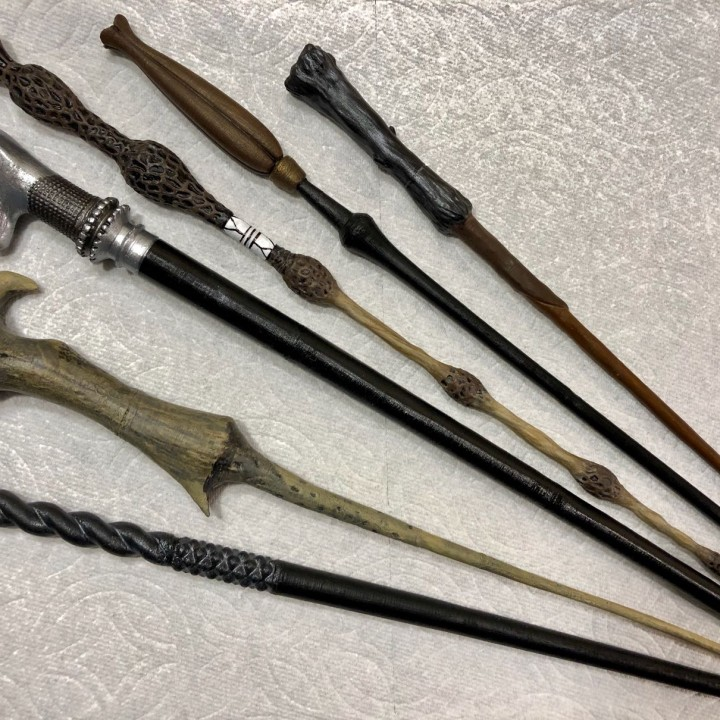 harry potter wand 3d printing