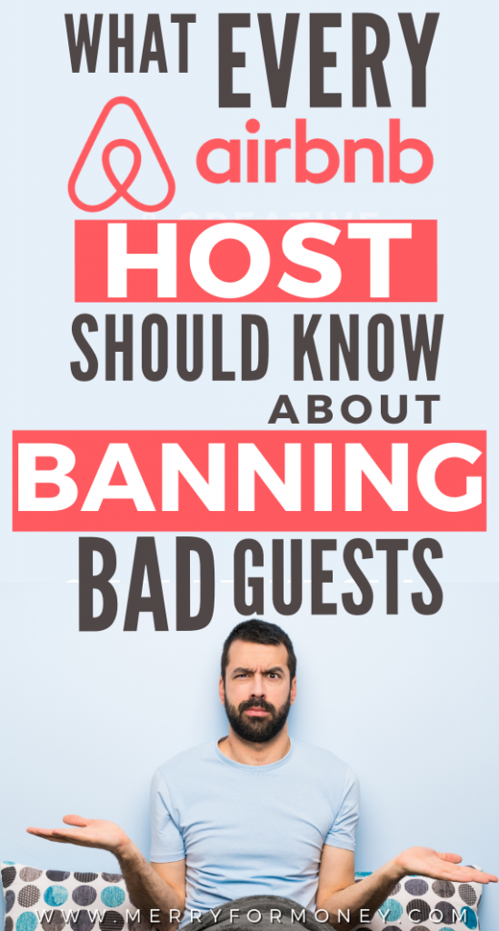 We love 99% of our guests. In most cases, the FBI didn't need to barge in ;) But annoying things like loud guests/messy guests might get a little ban. Airbnb doesn't make it clear how so here's a little #hosting #tip guide to protect yourself! - How to ban guests on airbnb, hosting tips, airbnb host, superhost, airbnb guest tips, make money, side hustle, extra income, passive income, vrbo, house rental, room, real estate investing, best host, guests, ideas, rental rule essentials, hacks, house
